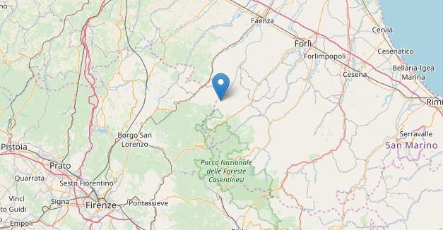 Terremoto: scossa di 3.6. Paura in Romagna