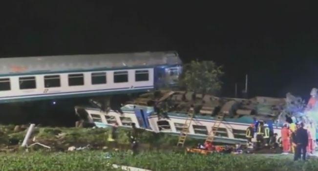 Treno urta un tir fermo sui binari. Due morti sulla Torino Ivrea