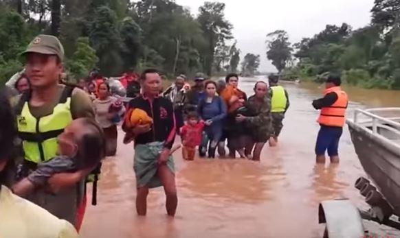 Laos: decine di morti e dispersi per crollo di una diga