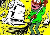 Charlie Hebdo pretestuosamente contro tutti gli italiani, per il ponte di Genova