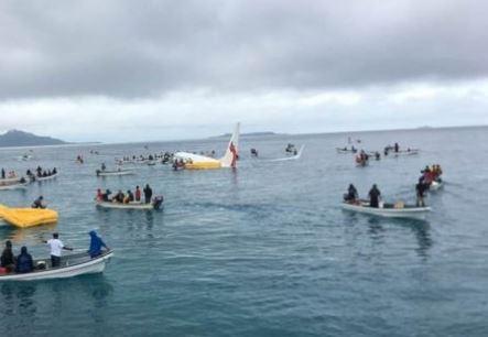 Micronesia: Boeing finisce in laguna con 47 a bordo. Tutti salvi