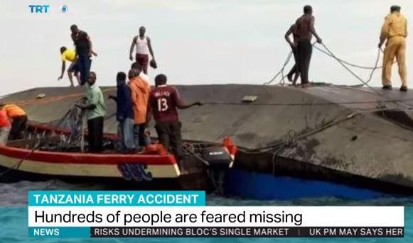 Tanzania: battello affonda. Potrebbero esserci 200 morti