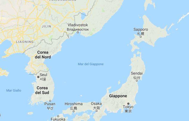 Giappone: forte terremoto a Sapporo.  Magnitudo 6.8