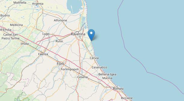 Ravenna: forte terremoto 4.5. Paura nel nord est. Scuole chiuse