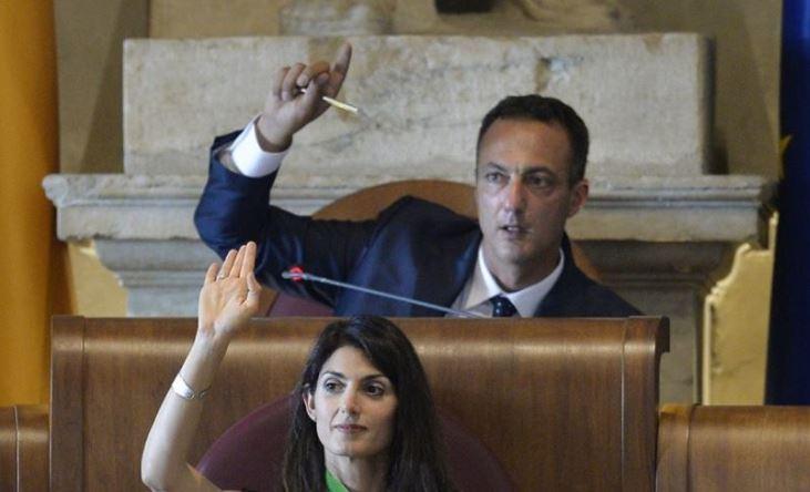 Roma: arresti per presidente Assemblea capitolina, De Vito dei 5 Stelle