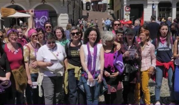 Svizzera. Le donne in sciopero per la parità