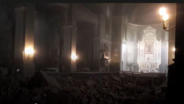 Terremoto in Croazia: 5.4. Crollano edifici