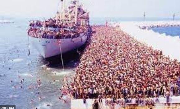 Trent'anni fa arrivarono gli Albanesi – di Giuseppe Sacco