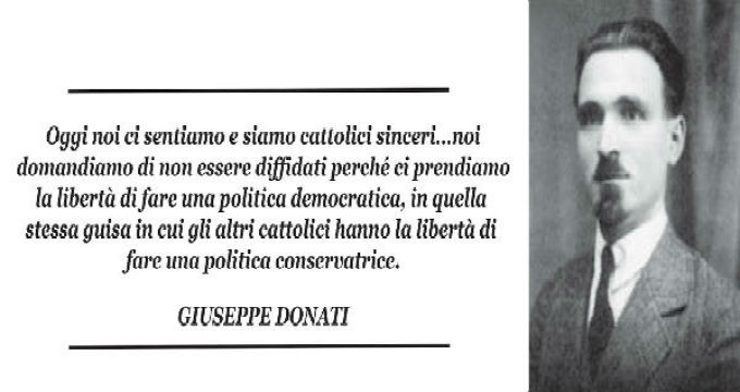 Giuseppe Donati, il troppo dimenticato eroe della Libertà – di Giancarlo Infante